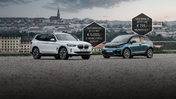 BMW iX3 und BMW i3